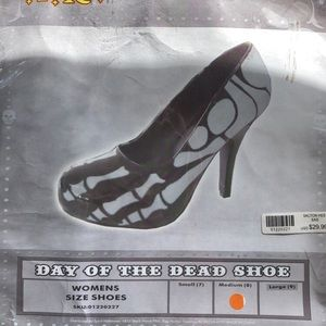 Day of the Dead Skeleton Shoe